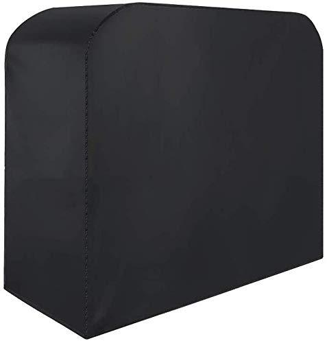 Dxx copertura per griglia, coperture per barbecue in tessuto oxford 420d, copertura per barbecue a gas impermeabile anti-strappo resistente alla polvere (145x61x117cm) - nera, 145 * 61 * 117,170 * 61