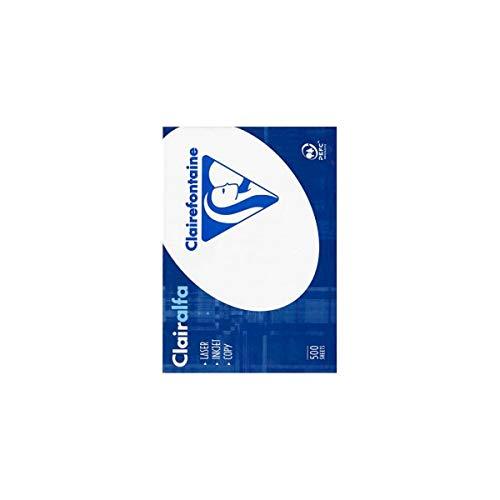 Clairefontaine Kopierpapier Clairalfa/1952C DIN A4 weiß 120 g/qm Inh.250