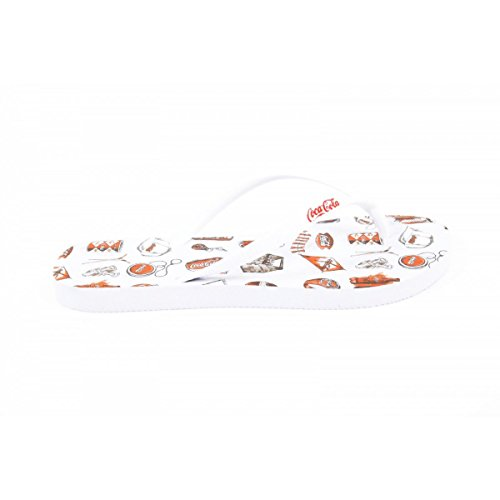 Coca Cola Coca Cola ladies flip flop CCA0636 ACE WHITE BIANCO