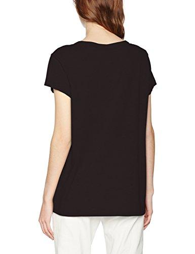G-STAR RAW Damen T-Shirt Genzia Straight R T Wmn S Schwarz (Black 990)