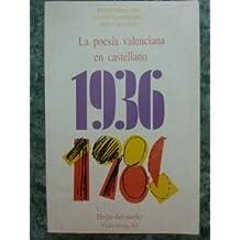 LA POESIA VALENCIANA EN CASTELLANO 1936-1986.