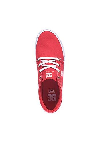 DC Shoes Trase TX, Sneakers da Uomo Rosso
