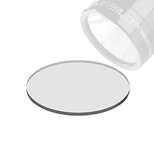 Weltool Maglite Taschenlampe Glas-Objektiv Aktualisierung für C/D Cell Maglite Taschenlampen – Linse aus Sekuritglas bruchsicher und Klar (Linse Taschenlampe)