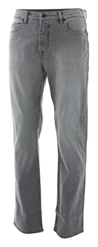 Element Damen Jeans (Element E04 Straight Jeans 2018 Black Light Used, 32/32)