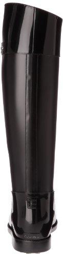Calvin Klein Xiara, Bottes de pluie femme Noir (Blk)