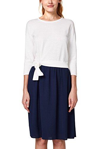 ESPRIT Damen Kleid 028EE1E002, Mehrfarbig (Off White 2 111), XX-Large