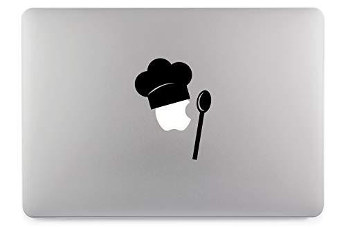 Koch Löffel Aufkleber Skin Decal Sticker geeignet für Apple MacBook und alle Anderen Laptop und Notebooks (11