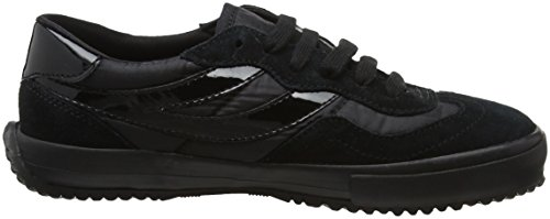 Superga 2832 Nylu, Sneaker Unisex – Adulto Black (Total Black)