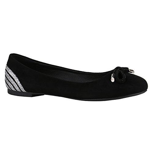 Scarponcini Da Sera Classici Classici Ballerine Pantofole Scarpe Basse Oversize Scarpe Metalliche Glitter Scarpe Da Sera Flandell Nero Argento