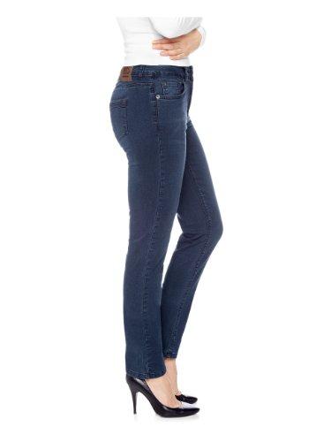 H.I.S Jeans Damen Skinny Jeans Marylin HIS-141-10-061 Blau (dark power blue)