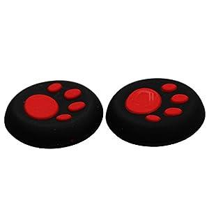 Timorn Schutzkatzenpfote Art-Silikon-Abdeckung-Controller Joystick Thumb-Stick Grip Cap für PS4 PS3 PS2 Xbox One / 360 Game-Controller