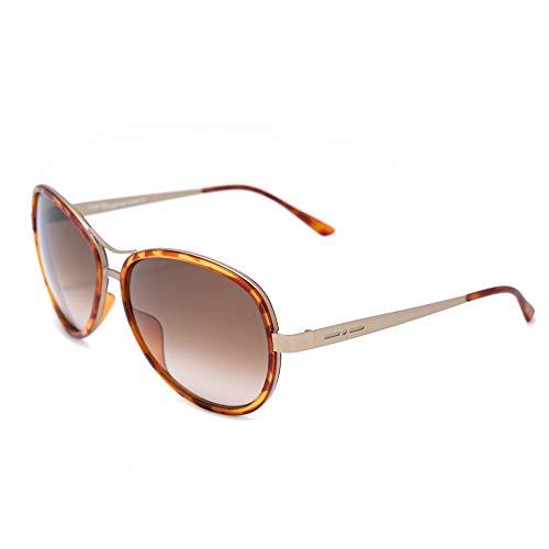 Italia Independent Damen 0073-090-000 Sonnenbrille, Braun (Marron), 61.0