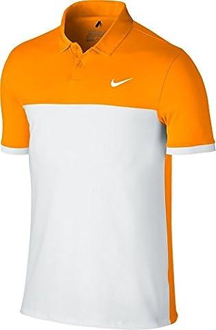 Nike Polo Icon Color Block-Polo-Homme XXL Naranja / Blanco
