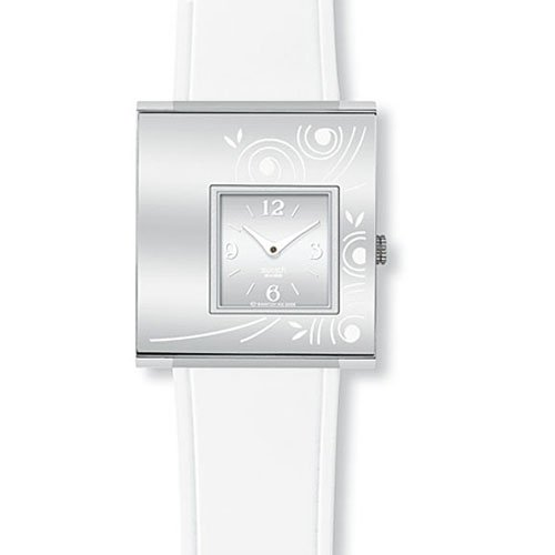 swatch-ladies-bright-act-silver-dial-white-rubber-strap-watch