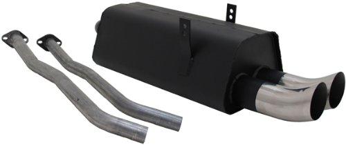 Carparts-Online 18391 Sport Auspuff 2 x 76 mm Sport