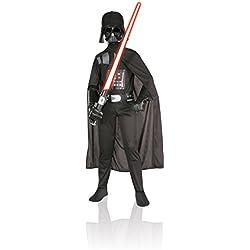 Rubies Star Wars - Disfraz de Darth Vader, para niños, talla 5-7 años 882009-M