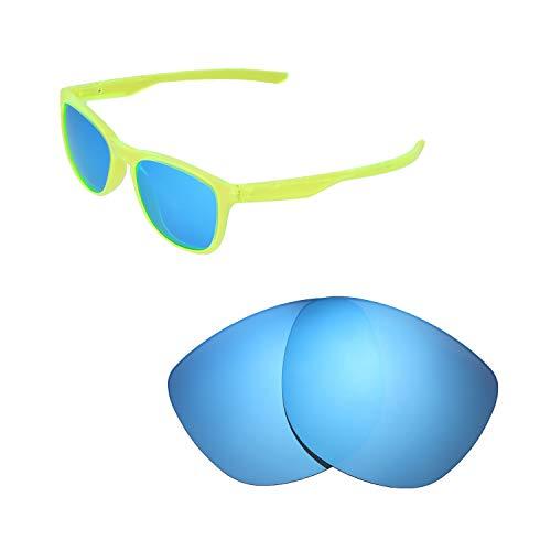 Walleva di Ricambio per Oakley Trillbe x Occhiali da Sole-Varie opzioni Disponibili, Unisex - Adulto, Ice Blue Coated - Polarized, Taglia Unica