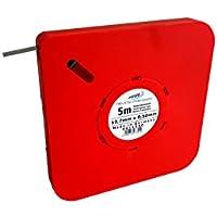 HELIOS-PREISSER 0611550 Fühlerlehrenband 5 m x 13 mm i.Plastikdose 0,50 mm