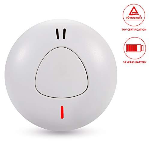 Sendowtek Detector Humo Independiente Alarma Humo