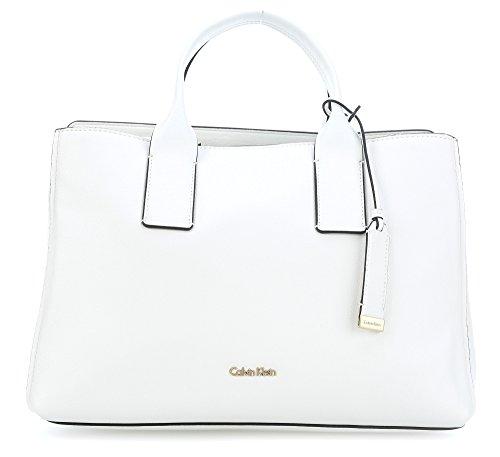 Calvin Klein Downtown Tote White
