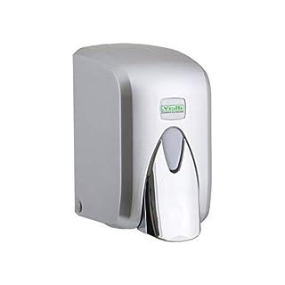 Aviva Clean Seifenspender | 500 ml | Farbe Chrom Style/Chrome | Wandbefestigung | mit Tank inkl. | Elegant | auch für Praxen geeignet