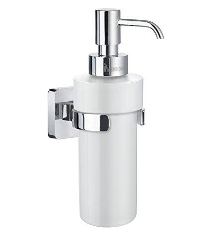 Smedbo ICE Seifenspender Verchromt/ Porzellan OK369P - Smedbo Chrom-badezimmer-seifenspender