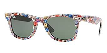 Ray-Ban 2140 1049 Button Pins on Black 2140 Wayfarer Wayfarer Sunglasses Lens Category 3