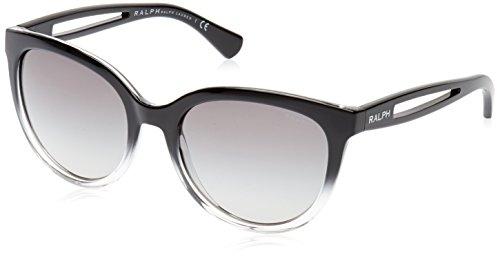 Ralph Lauren Purple Label Unisex RA5204 144811 Sonnenbrille, Schwarz (Black), One size (Herstellergröße: 55)