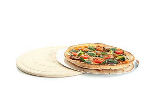 Piedra redonda para pizza Ø 33 cm de cordierita - para hornear...