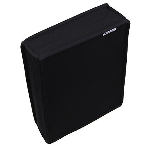 Pandaren® Staub Beweis Neoprene Cover Abdeckung vertikal für Xbox One S (schwarz) (One-staub-abdeckung Xbox)