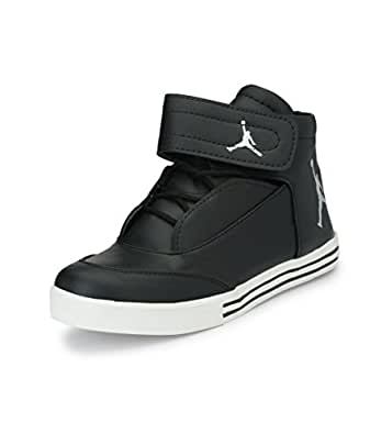 Real Blue Men Black Jordon Shoe