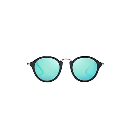 joey Mädchen Sonnenbrille Strand Sonnenbrille Freizeit Reisen Outdoor Sport Retro Rundrahmen Polarisierende Sonnenbrille B