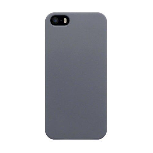 Terrapin Étui caoutchouté pour iPhone 5S/iPhone 5 gris