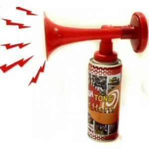 Supporters Loud Air Horn 2 pack