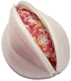 H & L Russel Ltd Padded Wash Bag Separates & Protects Bras and Delicates During Wash Cycle, Medium