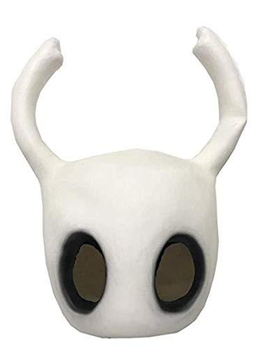 DealTrade Knight Helm Maske Cosplay Kostüm Halloween Erwachsene Weiß Vollkopf Latex Maske mit Ohren Fancy Dress Kleidung Prop (Knight Fancy Dress Kostüm)