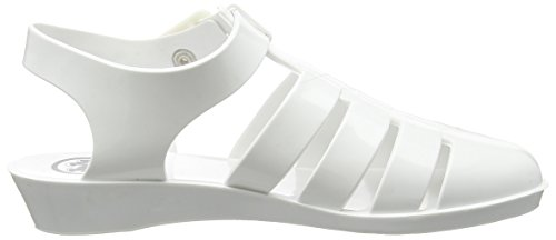 Juju Shoes TINKERBELLE, Sandales Compensées femme Blanc - Blanc