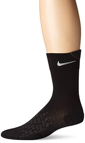 Nike Spark Cushioning Crew Calcetines, Unisex Adulto, Negro (Black/Reflective), 6-7.5