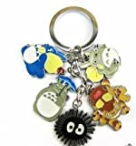My neighbor totoro Cat bus Black dust Key Chain by My neighbor totoro