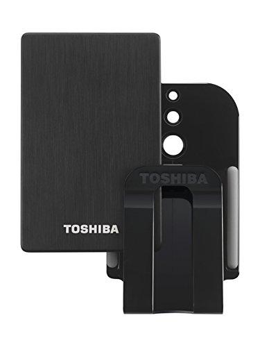 Toshiba STOR.E Alu TV Kit externe TV-Festplatte 1 TB (2,5 Zoll) USB 3.0 schwarz