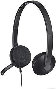 Logitech H340 Headset, Black