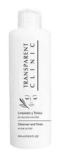Transparent Clinic Transparent Clinic nettoyant et Tonique - 200 ML
