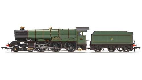 Hornby R3408GWR-Klasse 4-6King Edward V 6000Zug Modell Set (Edward Zug)