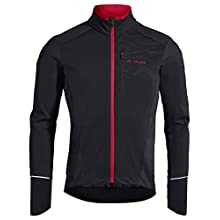 VAUDE Men's Fedaia Softshell Jacket, Black, M