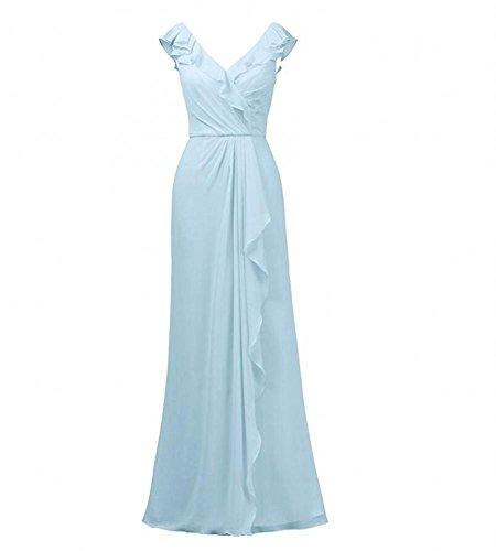 KA Beauty - Robe - Femme bleu ciel