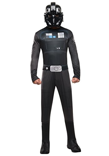 Star Wars Rebels Tie Fighter Pilot Deluxe Adult Costume (Tie Star Fighter Kostüme Wars)