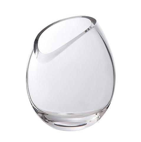 Dartington Crystal Curve Round Vase