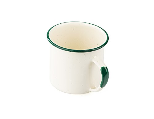 GSI Outdoors Deluxe Enamelware Cup Tasse, Unisex Erwachsene, Cream, One Size Gsi Outdoors Cup