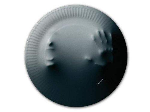 Geister Pappteller Halloween Party-Deko 10 Stück grau 23cm Einheitsgröße (Halloween Party Teller)