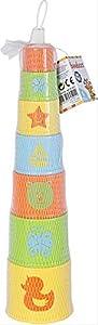 VEDES Großhandel GmbH - Ware beeboo Baby Pyramide Redondo, 7Piezas